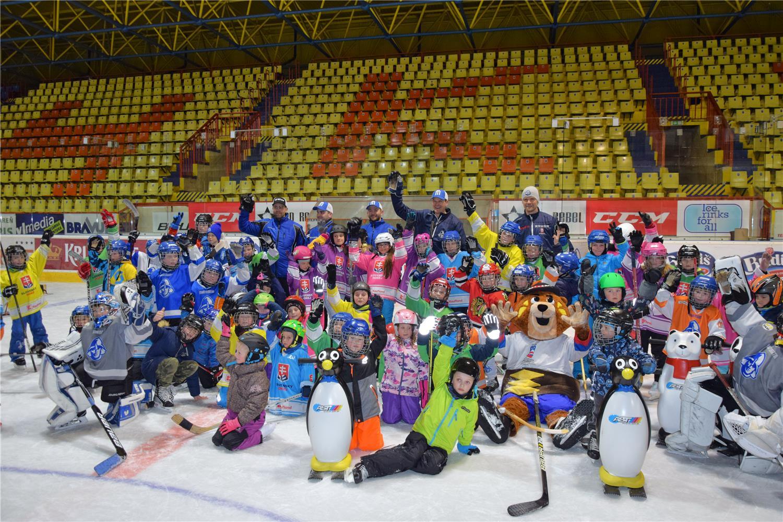 Veľa zábavy a pohybu - Deti na hokej